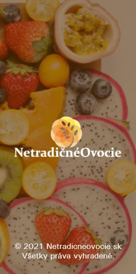 Netradičné ovocie